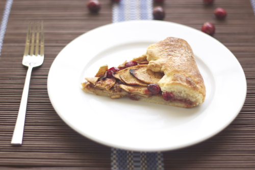 cranberry apple gallette 7