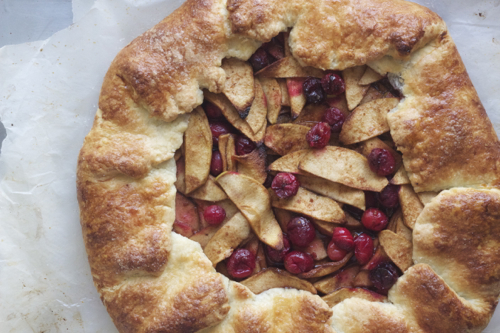Cranberry Apple Gallette