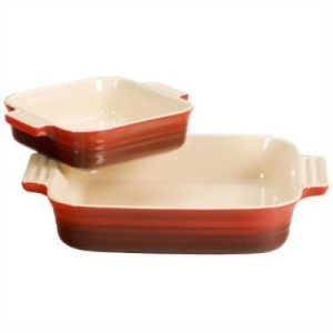 Le Creuset Baking Dish - Love Le Creuset! Bake in them, roast chicken in them. Also, so easy to clean and they make best gifts! You will never use any other again!
