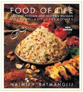 Food of Life Cookbook by Najmieh Batmanglij