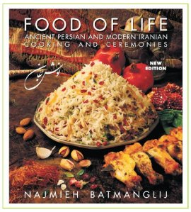Food of Life Cookbook by Najmieh Batmanglij