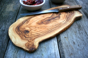 The Rustic Dish- Wooden Cheese Board