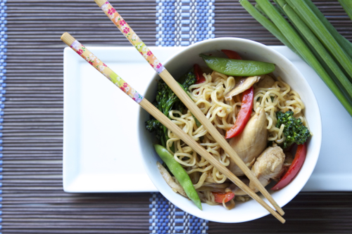 Top Ramen Noodle Stir Fry