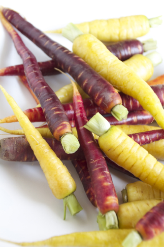 honey roasted heirloom carrots 2