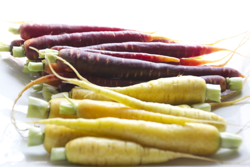 honey roasted heirloom carrots 4