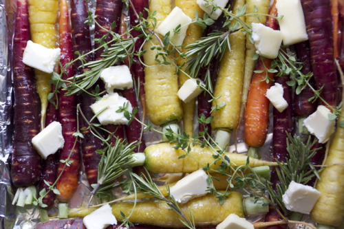 honey roasted heirloom carrots 5