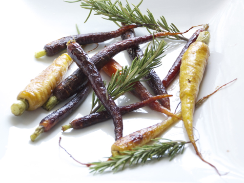 honey roasted heirloom carrots 6