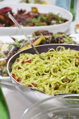 Pistachio Pesto Linguini