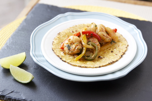 Summer Shrimp Fajita 5
