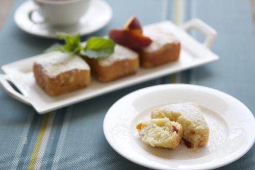 peach cakes 4