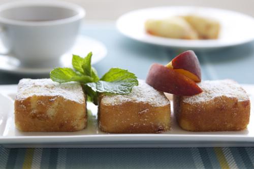 peach cakes 6