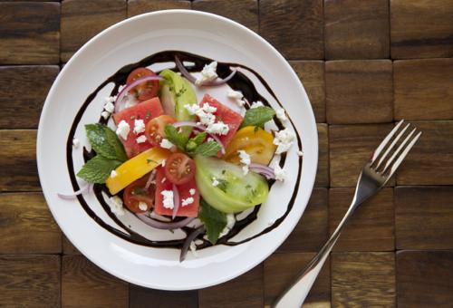 Watermelon Tomato Salad 2