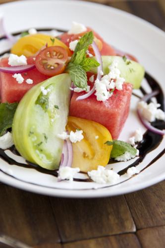 Watermelon Tomato salad 3