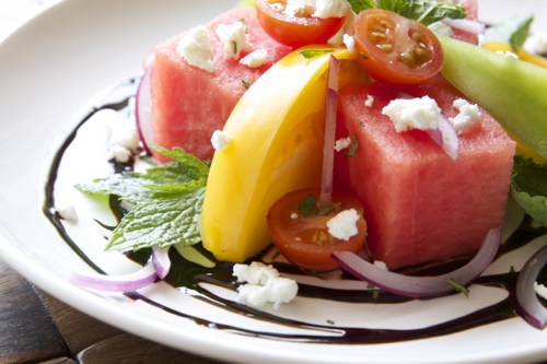 Watermelon TOmato Salad 4