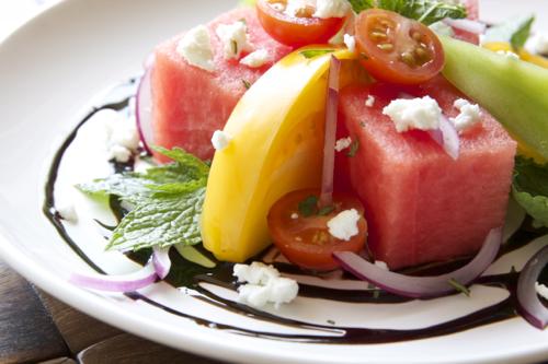 Watermelon TOmato Salad 4